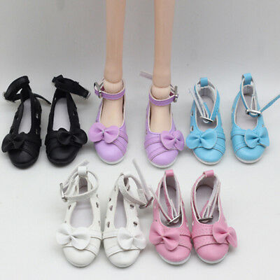 1 Pair doll bowknot shoes for  dolls  1/3 doll 60cm doll accessor ^P
