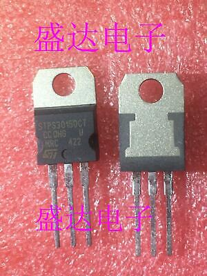 10 x STPS20L15D STPS20L15 20A 15V TO220 LOW DROP OR-ing POWER SCHOTTKY DIODE