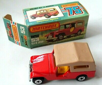 MATCHBOX No53 CJ-6 JEEP