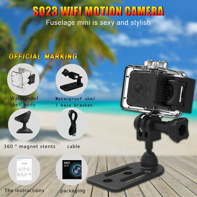 Mini SQ23 FULL HD 1080P + WiFi Waterproof Camera Sport Action Record Cam Holder