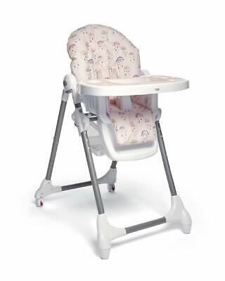 Mamas & Papas Snax Reclining Highchair Low Chair - Rainbow Pink