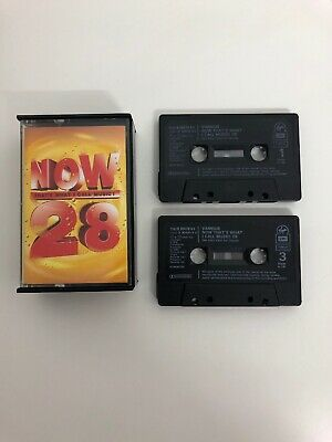 Various Artists - Now That's What I Call Music 28 Now28 Double Cassette Tape