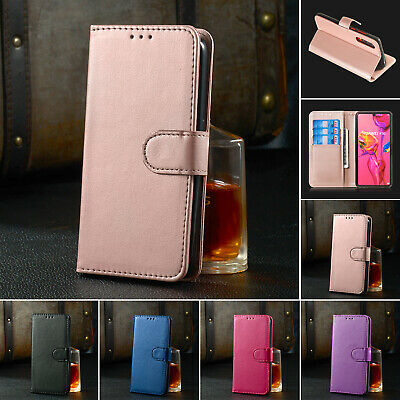 For Huawei P Smart 2019 Case Y6 Y7 Y9 2019 P30 Luxury Leather Flip Wallet Cover