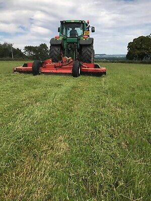 Wessex Folding Topper Tractor Pasture Field Grass Topper Mower