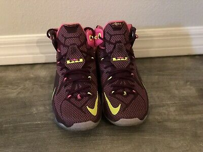 cheap for discount bd378 a678a NIKE LEBRON 12 Double Helix Size 11 - $60.00 | PicClick