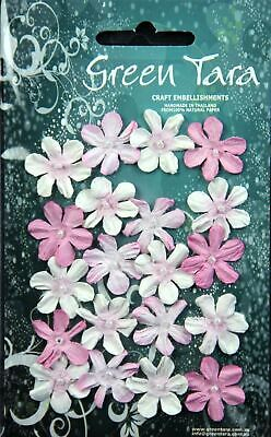 Green Tara Mini Flowers - Rose - 20 pack MFRo