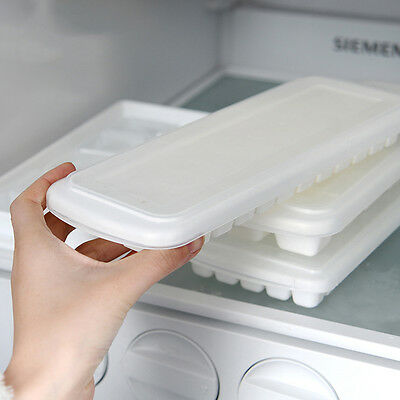 healthy ice maker DIY Freeze Mold with cover ice making tray with  Ice cube ^P