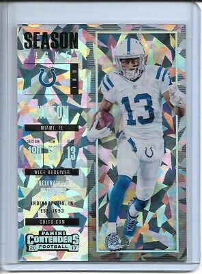 dd05b1fa T.Y HILTON 2017 Panini Contenders Season Ticket Cracked Ice /25 Colts SP