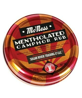 McNessMentholated Camphor RubOintment- New Fresh Product (Free Shipping)