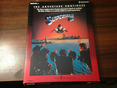 VHD - Superman II  Japan Release