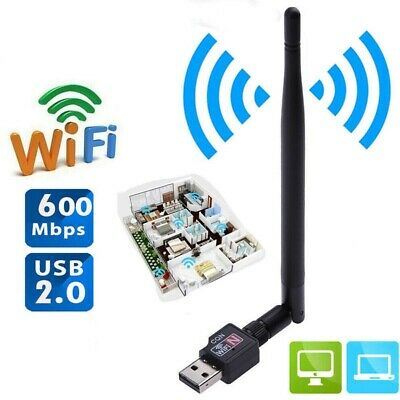 600Mbps USB Wifi Router Wireless Adapter Receiver Network High Speed Adaptador