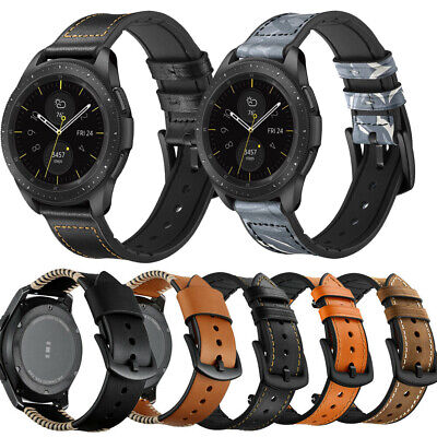 22mm Replacement Genuine Leather Wrist Watch Band Strap fr Huawei Watch GT/2 Pro