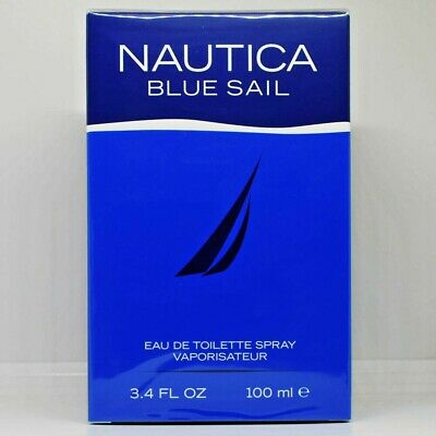 Nautica Blue Sail Cologne by Nautica 3.4 oz EDT Spray for Men New In Retail Box