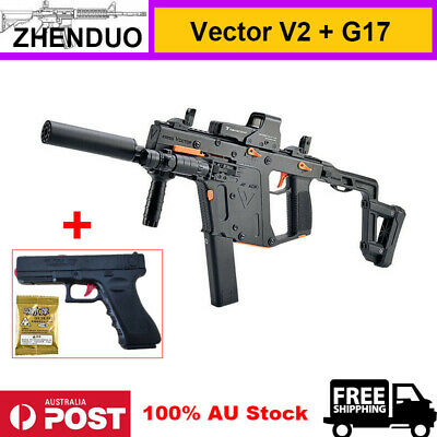 Toy Gel Ball Blaster Gun Nylon Vector V2 + Manual G17 Water Pistol 100% AU Stock