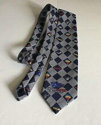 The Australian Avalon International Airshow Neck Tie-1997- Aeroplane-Collectable