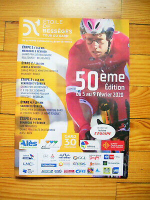 Poster Etoile de Besseges 2020 cyclisme vélo Tour de France collection collector