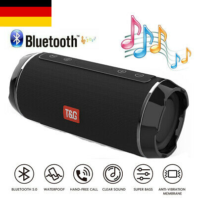 3D Wireless Bluetooth Lautsprecher Soundbox Subwoofer Handy Musikbox AUX FM SD