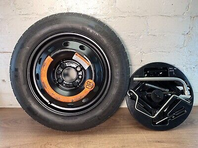 2011 Ford Ka Mk2 Spare Wheel 135/80/R14 Jack And Brace Set With Tray  [3]