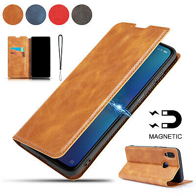 For Xiaomi Mi9 Case Redmi Note 7 6 6A Luxury PU Leather Magnet Wallet Flip Cover