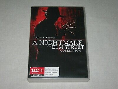 A Nightmare On Elm Street Collection - 8 Discs - 7 Movies - PAL - DVD