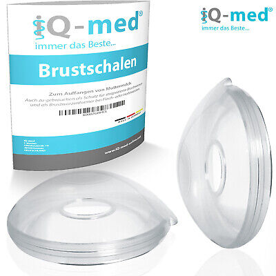 iQ-med Brustschalen | Made in Germany | Milchauffangschale, Stillschalen
