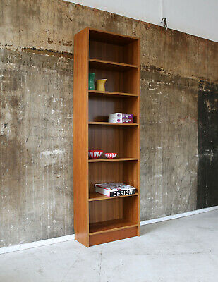 60er TEAK REGAL STANDREGAL BÜCHERREGAL MID-CENTURY SHELF VINTAGE