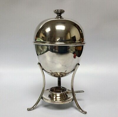 Antique Silver Plate Egg Coddler By Atkin Brothers Four Egg Coddler