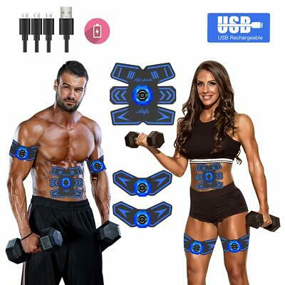 Abs Stimulator Ab Stimulator Muscle Toner Rechargeable Muscle Trainer Ultimate A