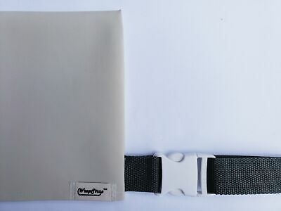 WrapStrap™ - Keep your chairs secured - Modern Theme (Ivory / Grey)