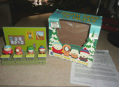 1998 Comedy Central South Park T.V. Talker Classroom Figure Toy With Box