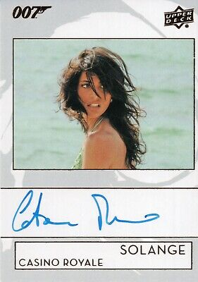 2019 James Bond Collection, Caterina Murino 'Solange' Autograph Card A-CA