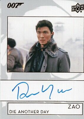 2019 James Bond Collection, Rick Yune 'Zao' Autograph Card A-RY