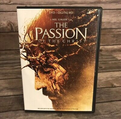 The Passion of the Christ (DVD, 2017) NO DIGITAL COPY A Mel Gibson Film