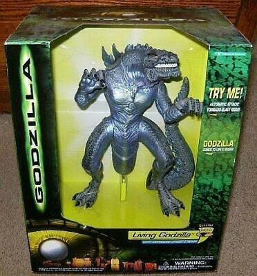 Living Godzilla Electronic Action Figure w/ Motorized Attack & Roar  Collectible