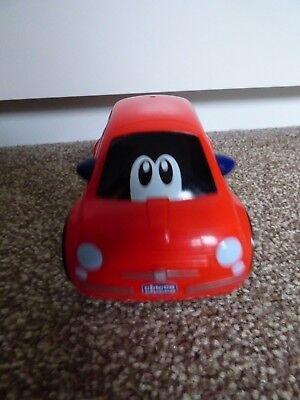 Chicco Toy Moving/Sounds Red Fiat 500 Car