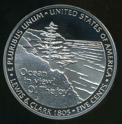 United States, 2005-S Jefferson Nickel 5c (Ocean in View) - Proof