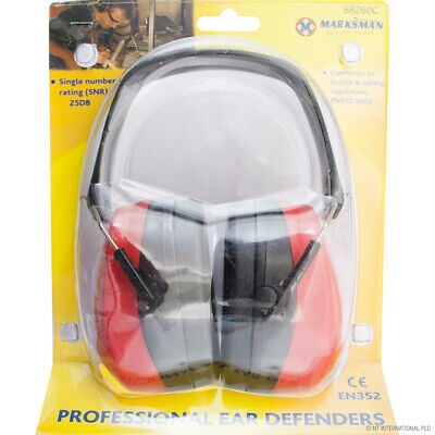 Professional Ear Defenders Muffs Folding 25Db Protectors Industrial Work New