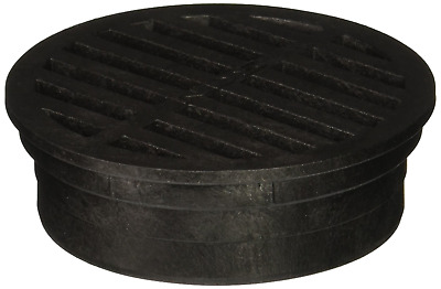 Plastic Round Grate, 4-Inch, Black FREE Shipping