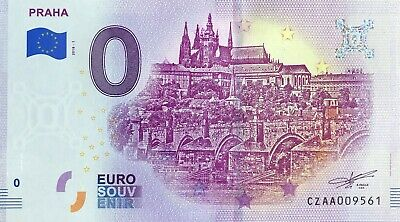 Billet 0 Euro Praha Prague Republique Tcheque   2018-1  Numero Divers