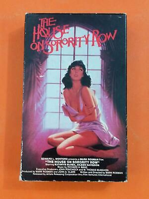 HOUSE ON SORORITY ROW Kathryn McNeil R 1983 Vestron BETA MAX TAPE
