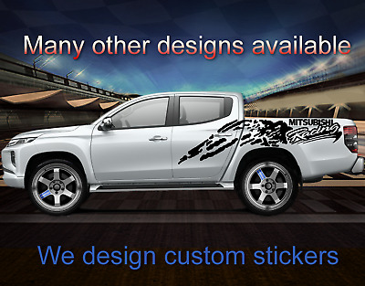 4x4 Z71 Offroad american eagle pickup mud Truck  Decal Sticker COMPLETE SET 297