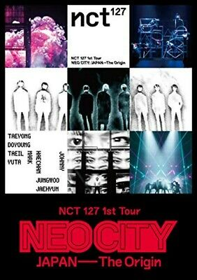 K-POP NCT 127 1st Tour NEO CITY JAPAN The Origin DVD Free Shipping