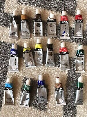 Daler Rowney Simply Gouache Paints Set Of 17
