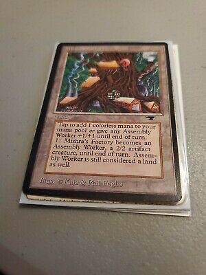 Mishra/'s Factory Antiquities NM Land Uncommon MAGIC CARD ABUGames b Spring