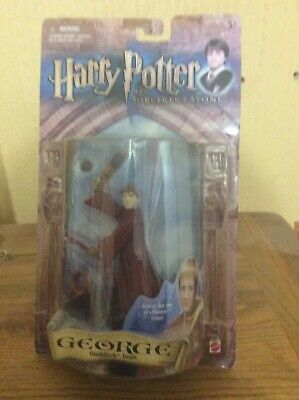 Harry Potter Sorcerers Stone Quidditch Team Fred & George figures - 2 items