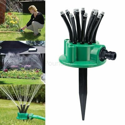 Garden Water  Sprinkler for Garden Lawn Grass Plant Watering 360