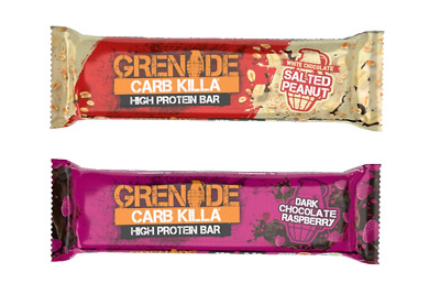 Grenade Carb Killa ( Mix and Match Flavours Available) £2.00 **SPECIAL OFFER**