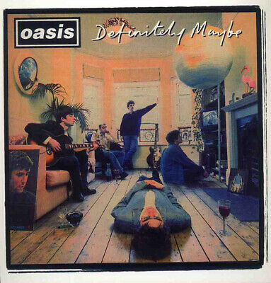 Oasis Definitely Maybe Lp Album Front Cover Poster Page