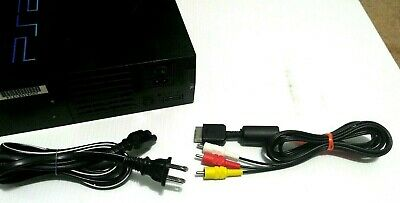 official original PS2 AV Cable, &  AC Power Cord Bundle For Sony Playstation 2