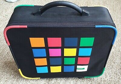 Vintage United Colours of Benetton Hand Luggage Case   wheeled   90s / y2k